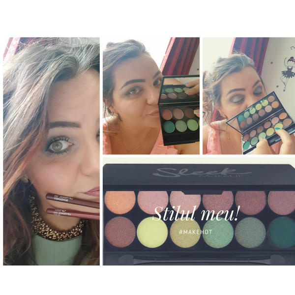 Sleek MakeUP Paleta De Farduri Sleek Eyeshadow Palette Garden Of Eden