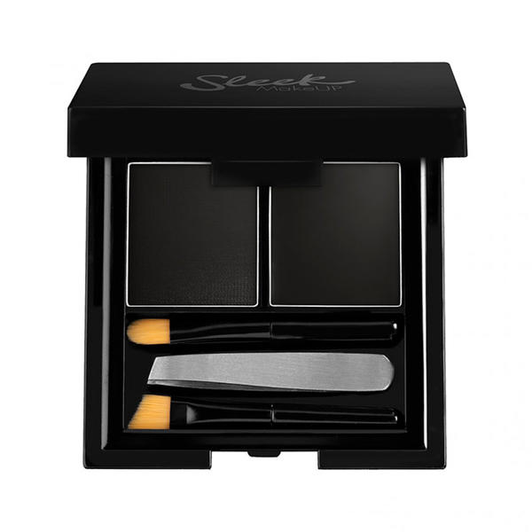 Sleek MakeUP Fard De Sprancene Sleek Brow Kit Black