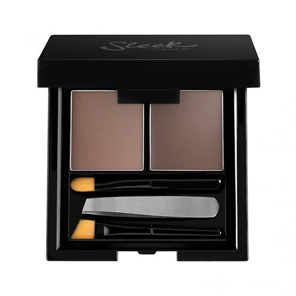 Sleek MakeUP Fard De Sprancene Sleek Brow Kit Dark