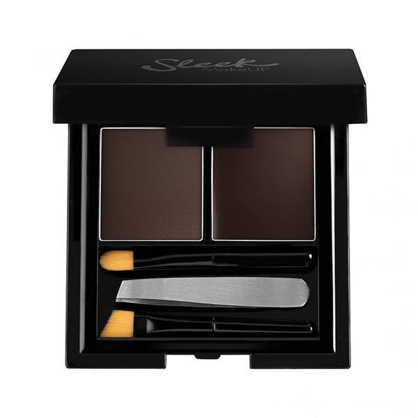 Sleek MakeUP Fard De Sprancene Sleek Brow Kit Extra Dark