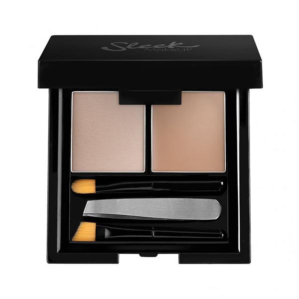Sleek MakeUP Fard De Sprancene Sleek Brow Kit Light