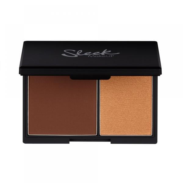 Sleek MakeUP Paleta Contouring Sleek Face Contour Kit Dark
