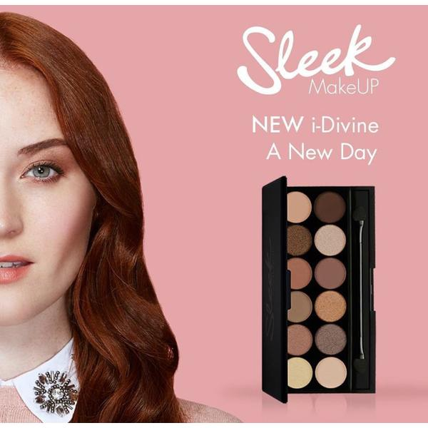 Sleek MakeUP Paleta De Farduri Sleek Eyeshadow Palette A New Day