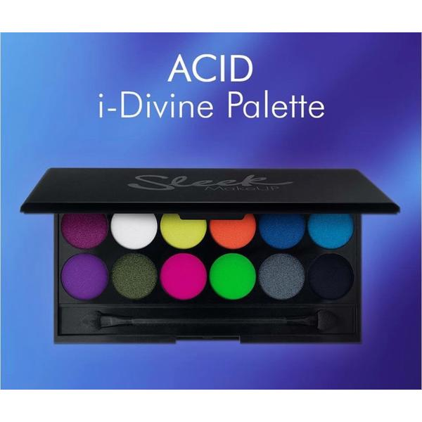 Sleek MakeUP Paleta De Farduri Sleek Eyeshadow Palette Acid