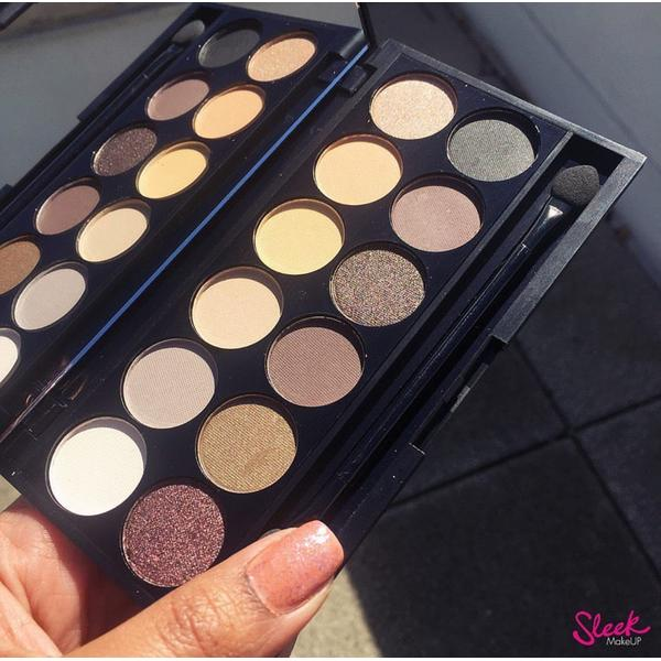 Sleek MakeUP Paleta De Farduri Sleek Eyeshadow Palette Au Naturel