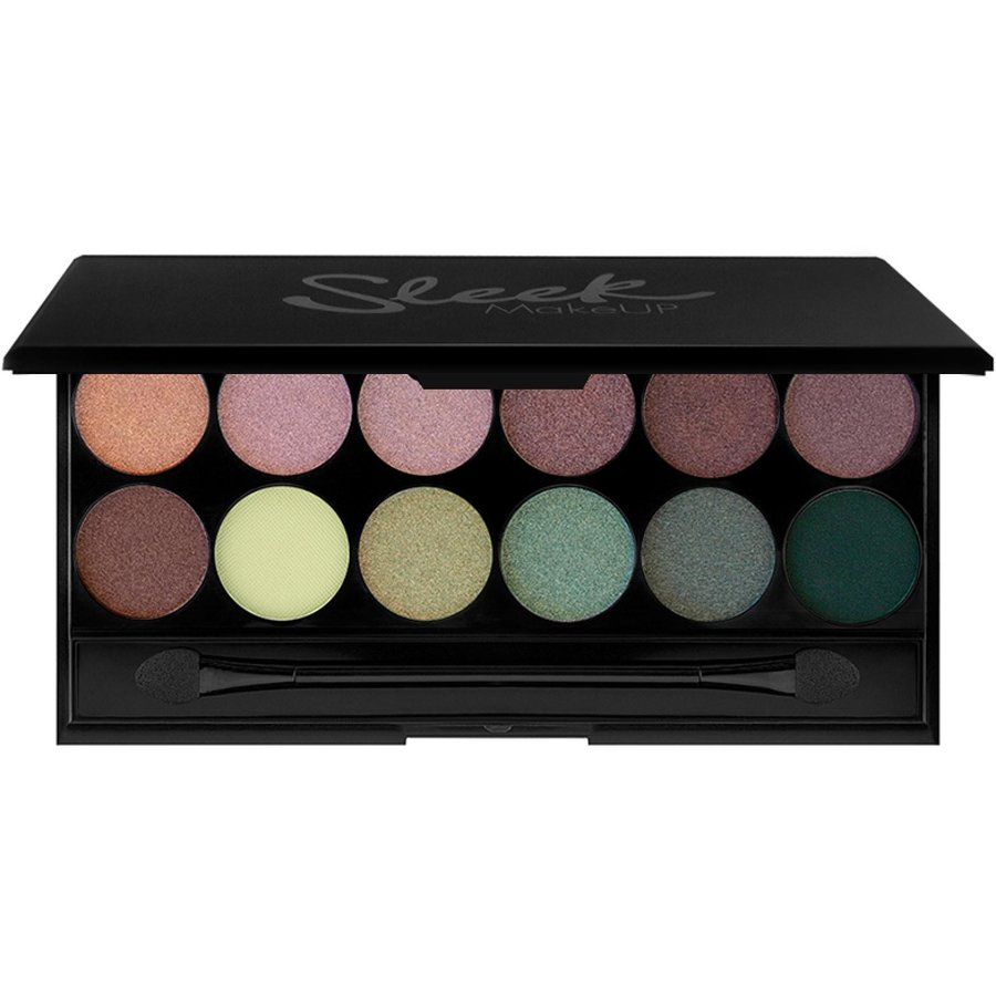 paleta de farduri sleek eyeshadow palette garden of eden