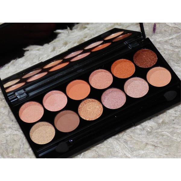 Sleek MakeUP Paleta De Farduri Sleek Eyeshadow Palette Peach Perfect