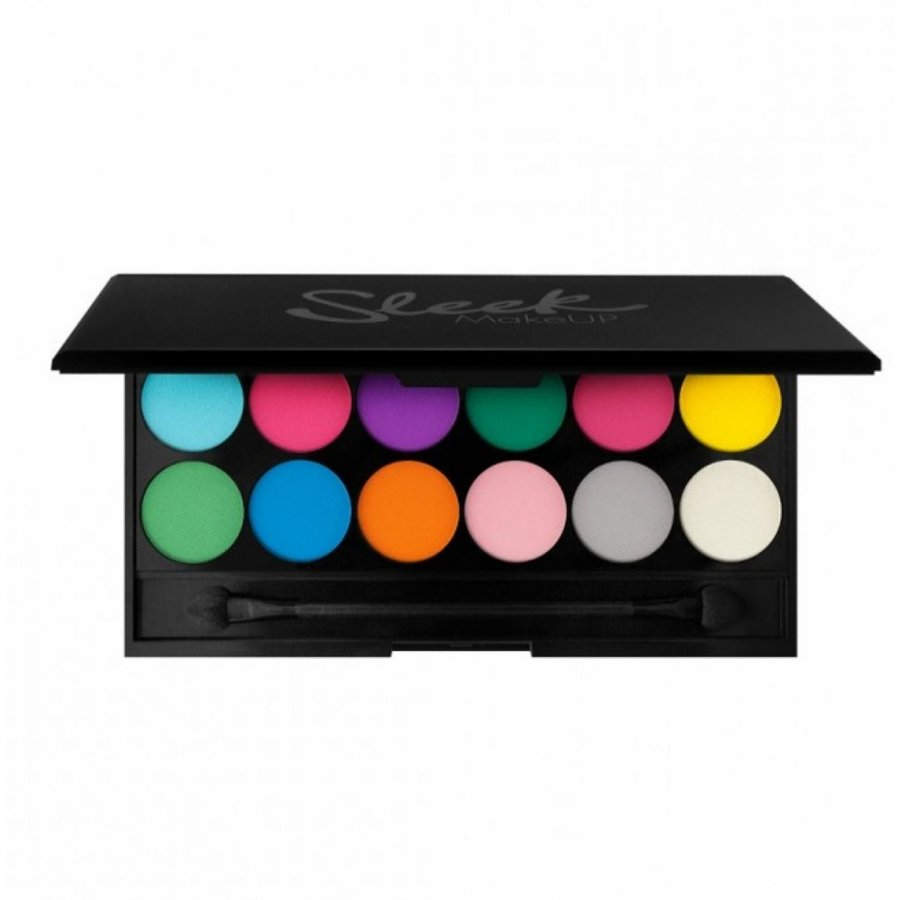 paleta de farduri sleek eyeshadow palette ultra mattes darks v1 brights