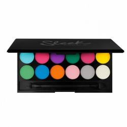 Sleek MakeUP Paleta De Farduri Sleek Eyeshadow Palette Ultra Mattes Brights V1