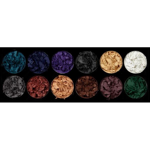 Sleek MakeUP Paleta De Farduri Sleek Eyeshadow Palette Ultra Mattes Darks V2