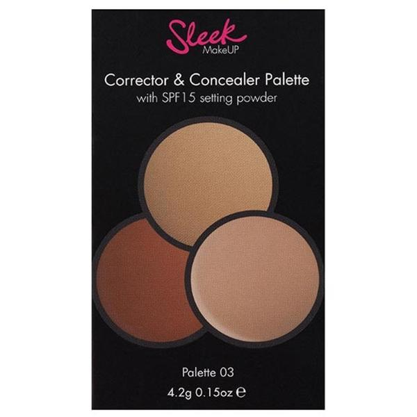 Sleek MakeUP Paleta Sleek Anticearcan Correct And Conceal 03