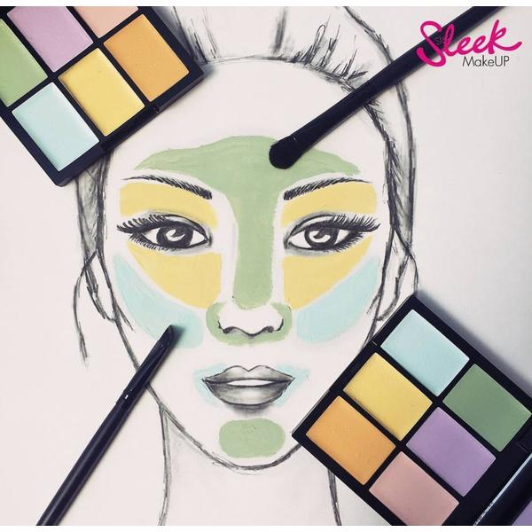 Sleek MakeUP Paleta Sleek Colour Corrector Palette