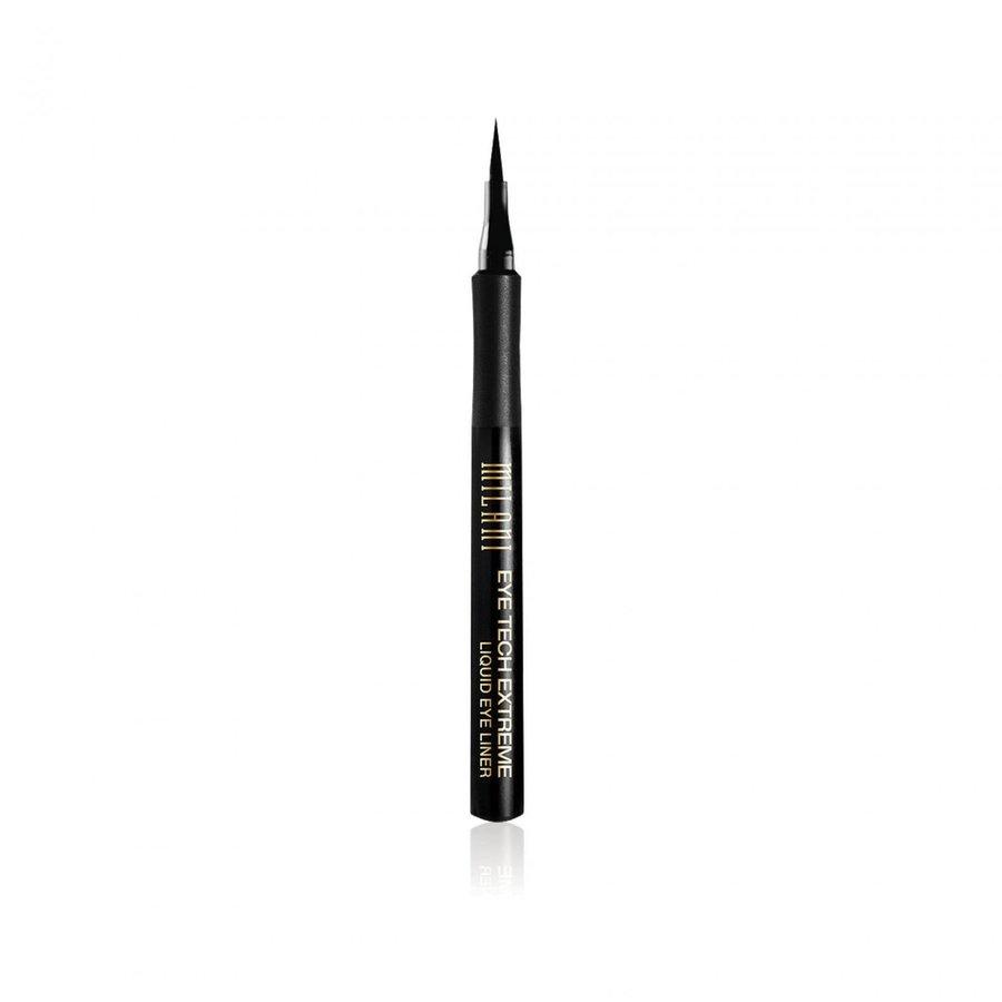 Imagine Contur De Ochi Milani Eyetech Extreme Liquid Eyeliner Blackest Black