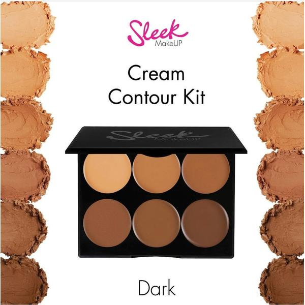 Sleek MakeUP Paleta Sleek Conturare Cream Contour Kit Dark