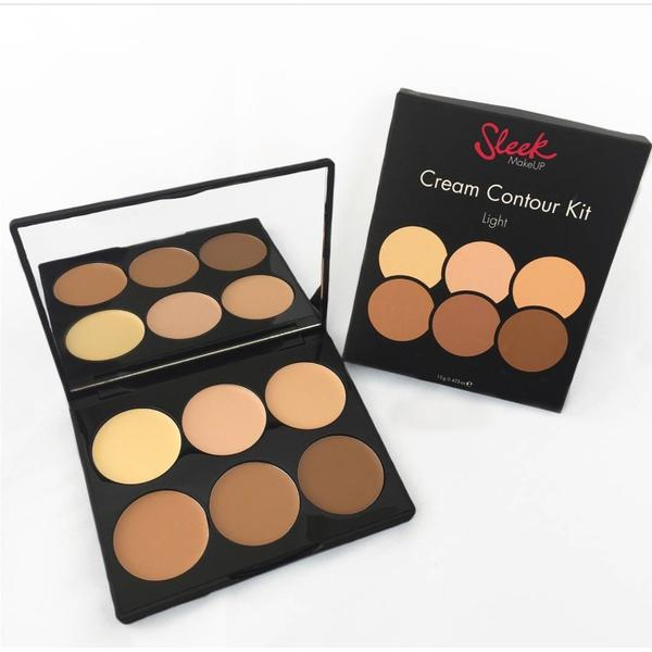 Sleek MakeUP Paleta Sleek Conturare Cream Contour Kit Light
