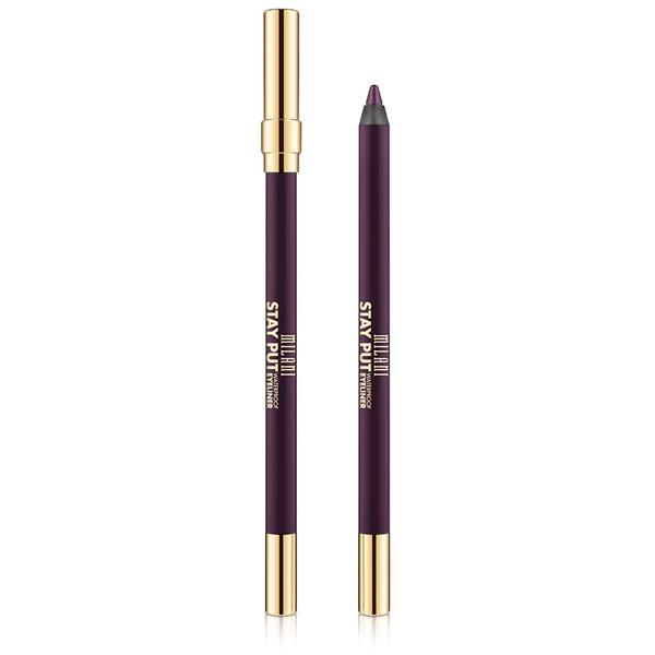Creion de ochi Milani Stay Put Waterproof Eyeliner Fixed On Plum
