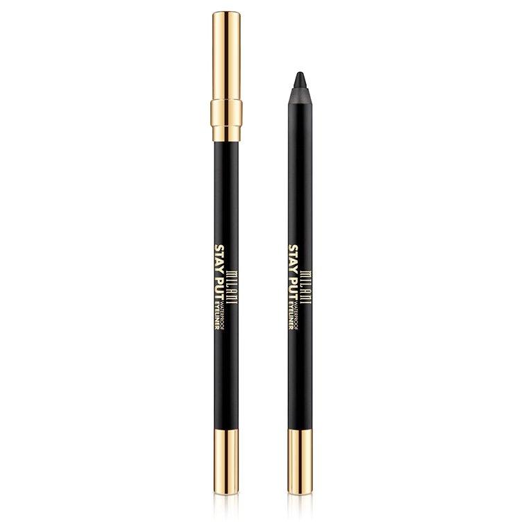 Creion de ochi Milani Stay Put Waterproof Eyeliner Linked On Black