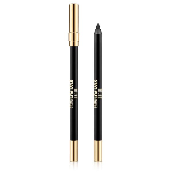 Creion de ochi Milani Stay Put Waterproof Eyeliner Linked On Black
