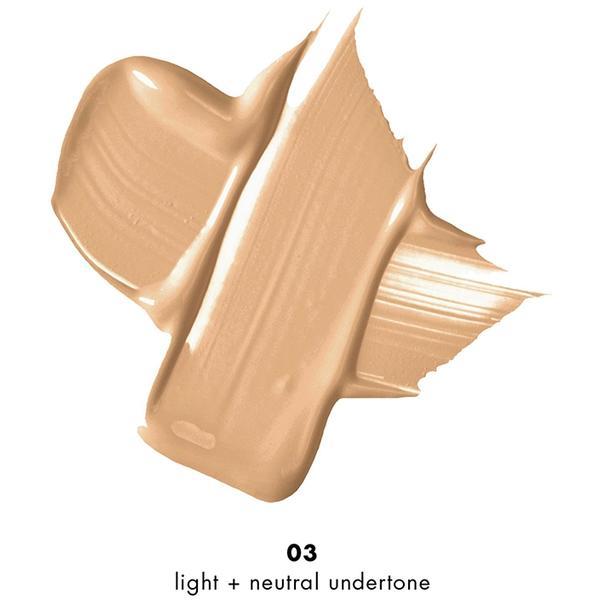 Fond De Ten + Corector Milani Conceal + Perfect 2 in 1 Foundation + Concealer Light Beige - 03