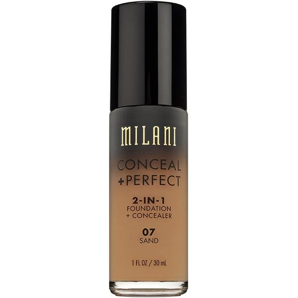 Fond De Ten + Corector Milani Conceal + Perfect 2 in 1 Foundation + Concealer Sand - 07