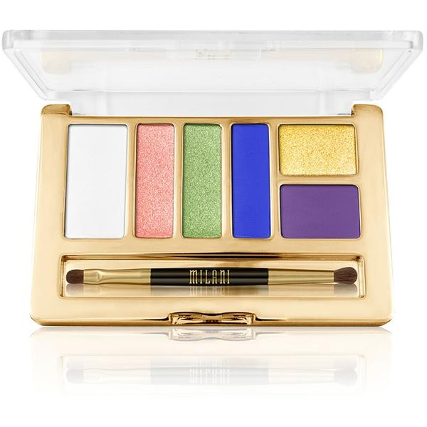 Paleta De Farduri Milani Everyday Eyes Powder Collection Vital Brights