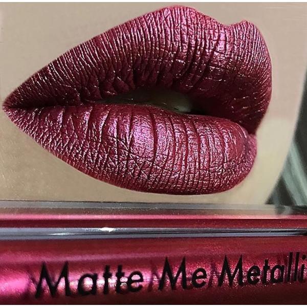 Sleek MakeUP Ruj Metalic Sleek Matte Me Anodized Ruby