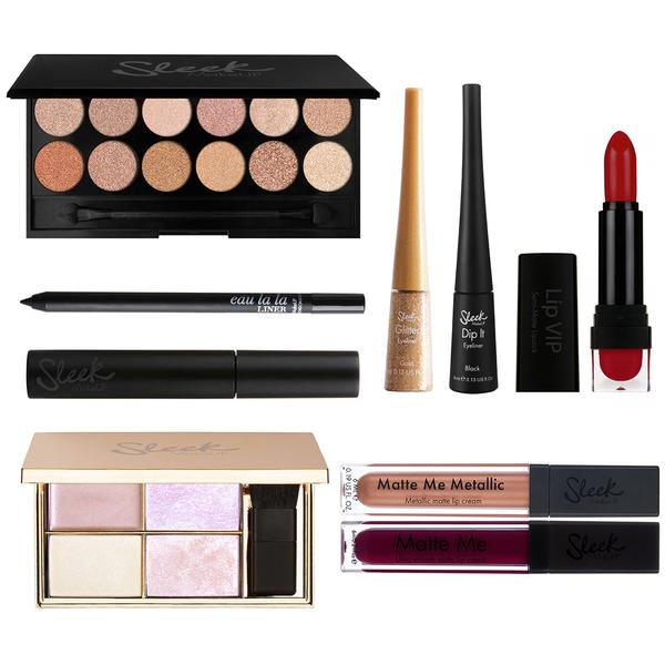 Sleek MakeUP Set Machiaj Sleek Ready To Party