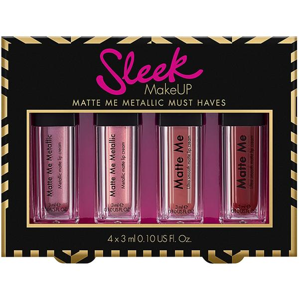 Sleek MakeUP Set Rujuri Sleek Matte Me Must Have