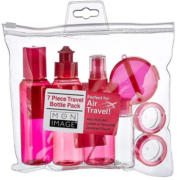 Set Calatorie EcoTools 7 Piece Travel Bottle Pack