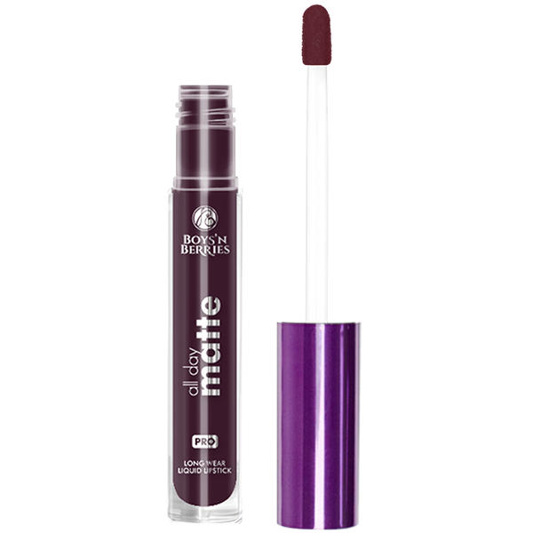 Boys n Berries Ruj lichid Boys'n Berries All Day Matte Sin