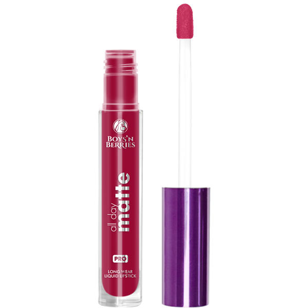 Boys n Berries Ruj lichid Boys'n Berries All Day Matte Red Sonja