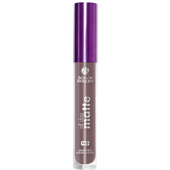 Boys n Berries Ruj lichid Boys'n Berries All Day Matte Storm