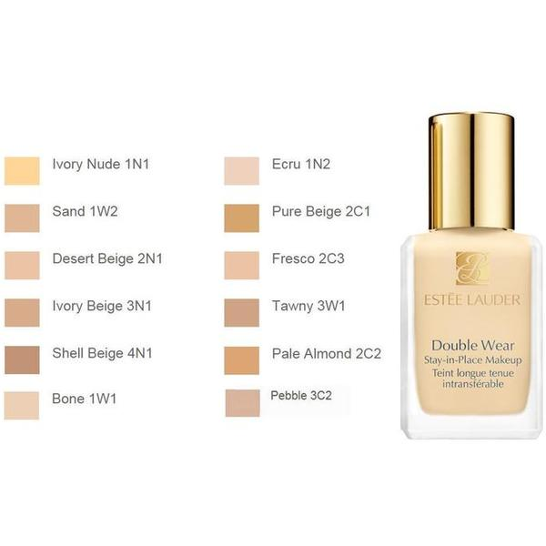 Fond De Ten Estée Lauder Double Wear Stay in Place Makeup SPF10 02 Pale Almond 30ml