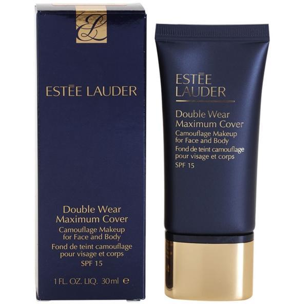 Fond De Ten Estée Lauder Double Wear Maximum Cover SPF 15 Creamy Vanilla 30 ml