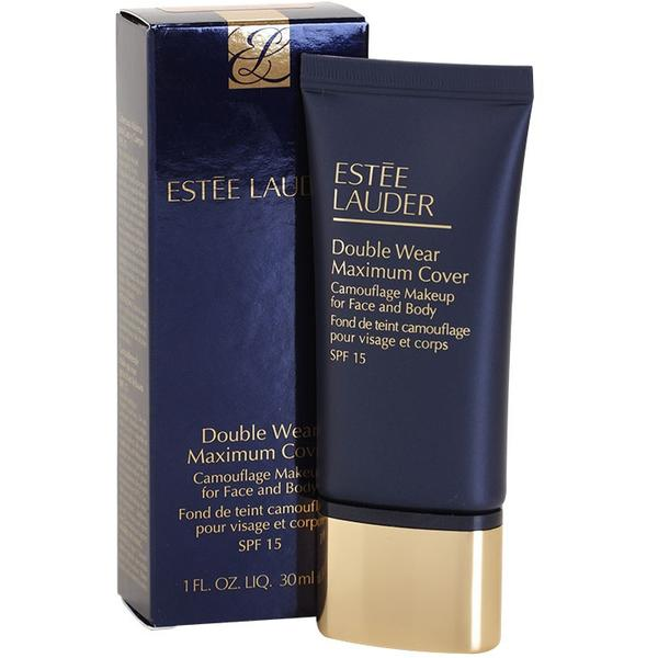 Fond De Ten Estée Lauder Double Wear Maximum Cover SPF 15 Creamy Tan 30 ml