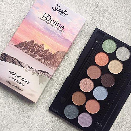 Sleek MakeUP Paleta De Farduri Sleek Eyeshadow Palette Nordic Skies