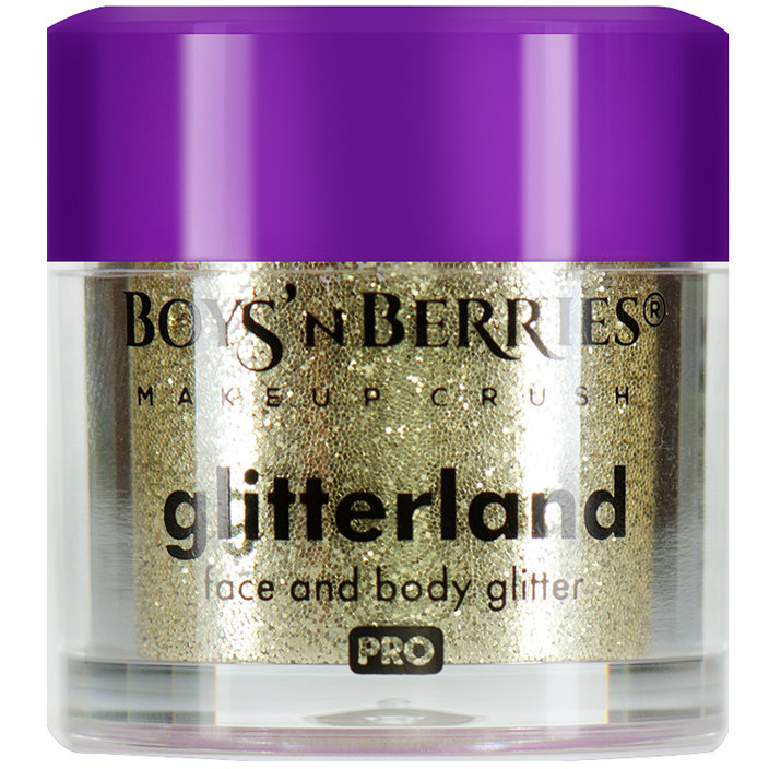 Glitter pulbere Boys'n Berries Glitterland Face and Body Vela