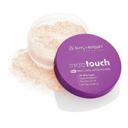 Pudra pulbere Boys'n Berries MicroTouch Perfecting Loose Powder Ivory