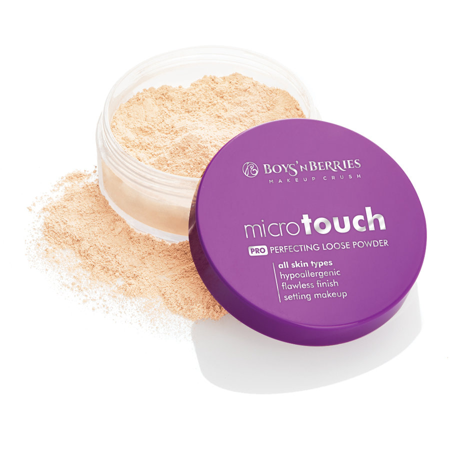 Pudra pulbere Boys'n Berries MicroTouch Perfecting Loose Powder Light