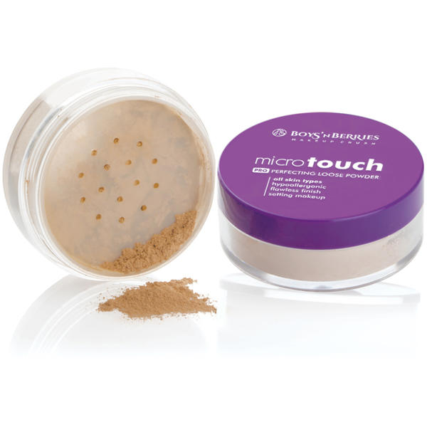 Boys n Berries Pudra pulbere Boys'n Berries MicroTouch Perfecting Loose Powder Light