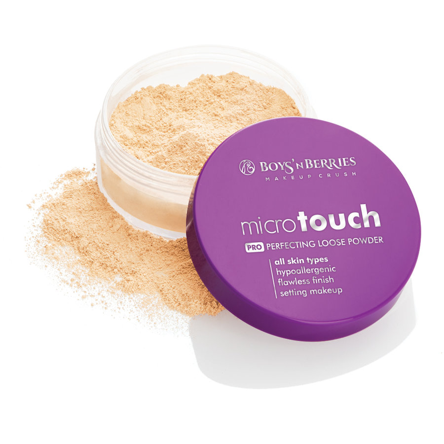 Pudra pulbere Boys'n Berries MicroTouch Perfecting Loose Powder Natural