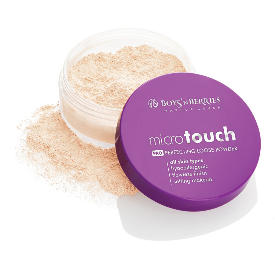 Pudra pulbere Boys'n Berries MicroTouch Perfecting Loose Powder Nude