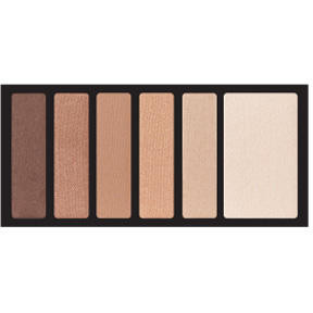 Kiss New York Professional Paleta Farduri Kiss Hexa Eyeshadow Palette Nude Brown