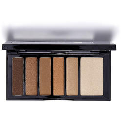 Paleta Farduri Kiss Hexa Eyeshadow Palette Nude Brown