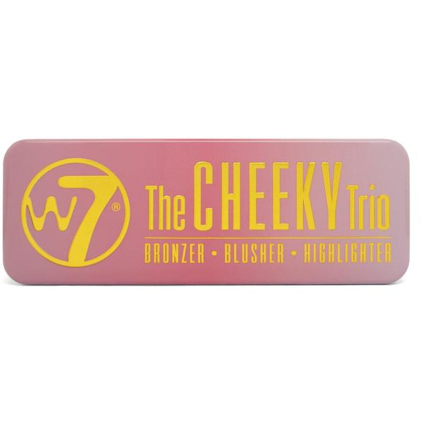 W7 Cosmetics Fard De Obraz W7Cosmetics Cheeky Trio
