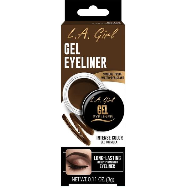 Contur De Ochi L.A. Girl Gel Eyeliner Rich Chocolate Brown