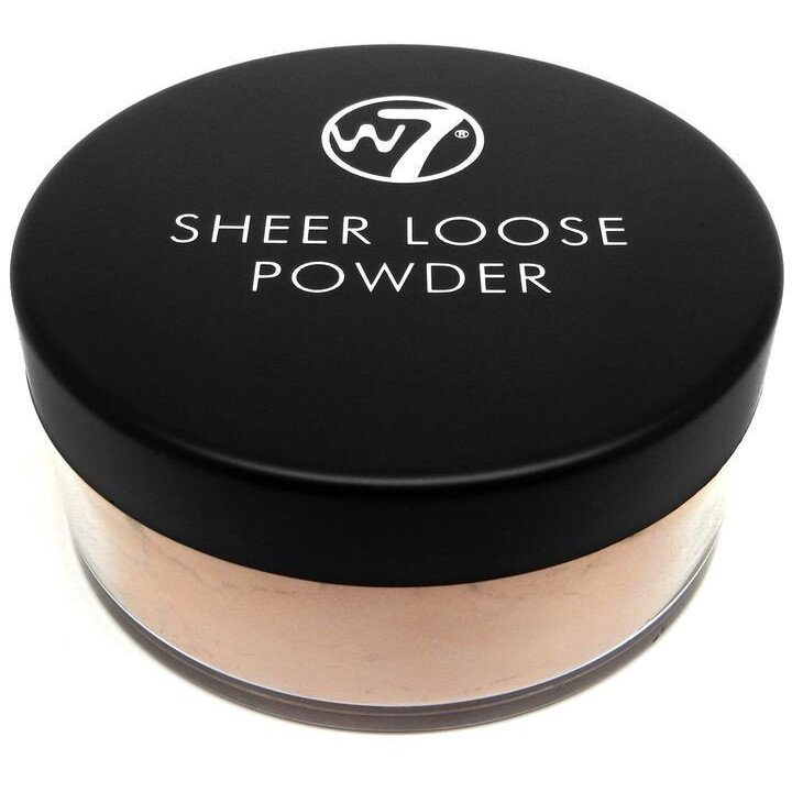 Pudra Fata W7Cosmetics Sheer Loose Powder Biscuit