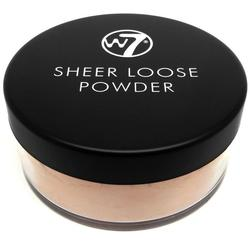 W7 Cosmetics Pudra Fata W7Cosmetics Sheer Loose Powder Biscuit