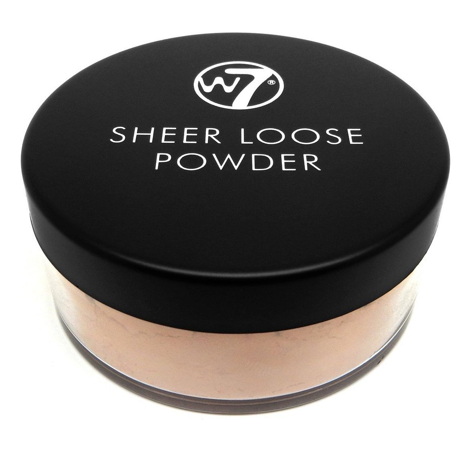 Pudra Fata W7Cosmetics Sheer Loose Powder Ivory