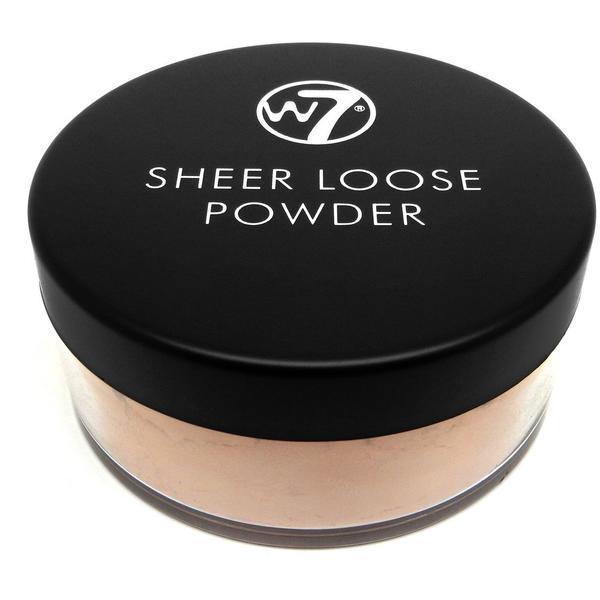 W7 Cosmetics Pudra Fata W7Cosmetics Sheer Loose Powder Ivory